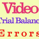 video on Trial Balance