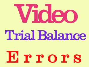 video on Trial Balance