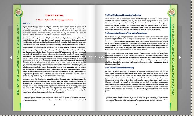 Open Text Book Assessment