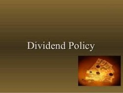 Dividend policy-Quiz to check your  knowledge!