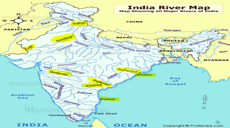 Relief and Drainage of India