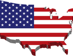 Geography Quiz on U.S.A State Borders : 10 MCQs